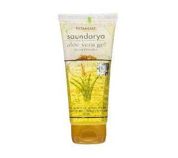 Patanjali Soundarya Kesar Chandan Aloe vera Gel Face Wash For Women 150ml - India