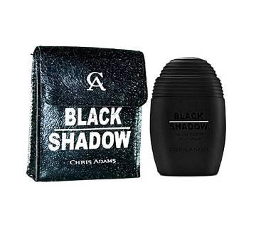 Chris Adams Pack of 2 Black Shadow Eau De Parfum for Men 200ml - France