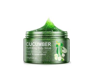 BIOAQUA Cucumber Whitening Facial Scrub 120g - China