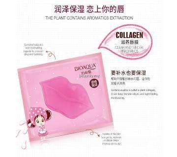 Bioqua Collagen Lip Mask 1pc Pink - China - Original