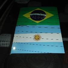 Car Mirror Sticker (Argentina)