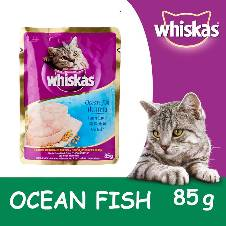 Whiskas Ocean Fish Pouch (85 gm)