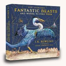 Fantastic Beasts and Where to Find Them- J.K. Rowling (English, Hardcover)