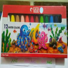 TiTi Non-Toxic Water Colors 12 pieces (1 packet)