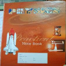 Hearts Practical Khata Physics with extra 5 loose sheets