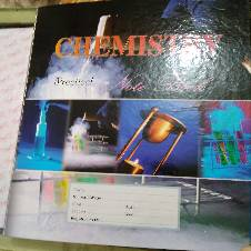 Hearts Practical Khata Chemistry with extra 5 loose sheets