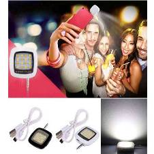 LED Selfie Flash Light (16pc Light)