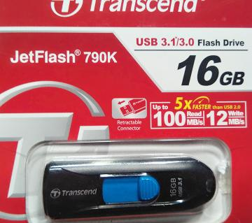 Transcend pendrive 16 gb