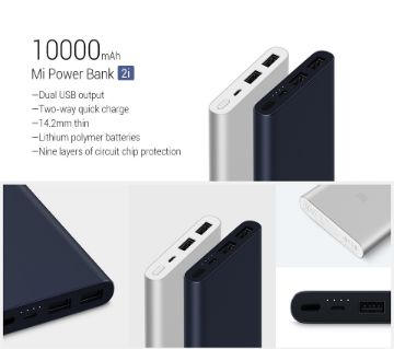 Xiaomi Mi Power Bank 10000mAh (original)
