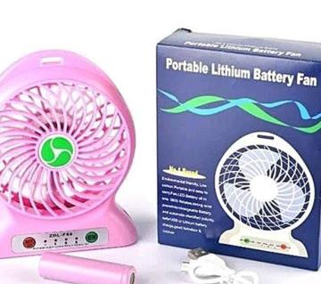 rechargeable mini usb fan with power bank