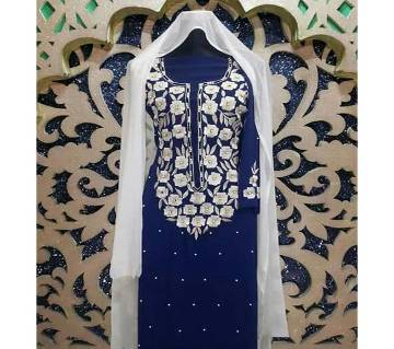 Unstitched Deshi Embroidery Three Piece - Original