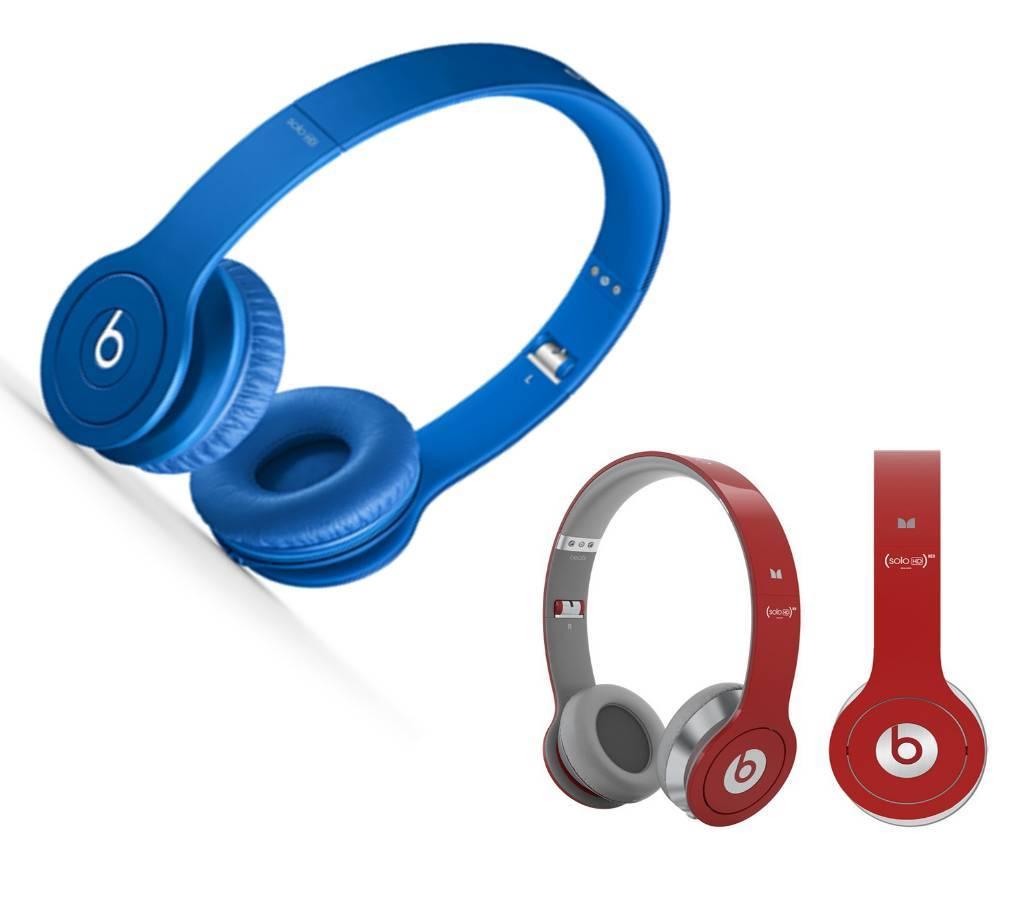 Beats Solo HD স্টেরিও হেডফোন (কপি) বাংলাদেশ - 736602