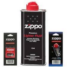 Zippo FLINT pack,FLUID can, WICK pack Combo Offer
