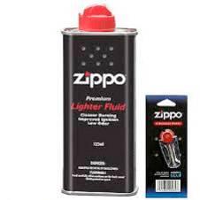 Zippo FLINT pack,FLUID can Combo Offer