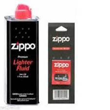 Zippo FLUID can, WICK pack Combo Offer