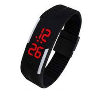 Silicon Belt LED Sports Watch