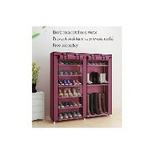 DOUBLE ROW Portable Shoe Rack