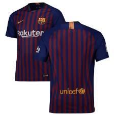 Barcelona half sleeve jersey