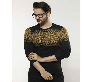Gents Cotton Full Sleeve Sweater