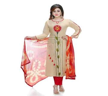 stitched cotton salwar kameez for women