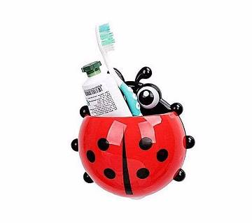 Lady Bug প্লাস্টিক টুথব্রাশ হোল্ডার