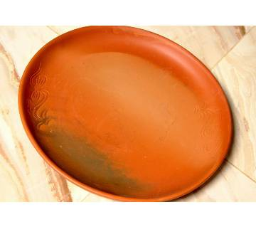 Clay plate (big)
