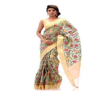 টাংগাইল পিওর মসলিন জামদানী শাড়ি
