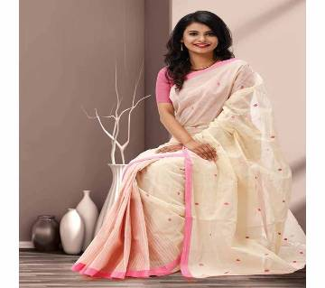 Tangail Taant Pure Cotton Saree