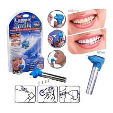 Luma Smile Teeth Polish and Whitening Kit - Silver and Blue