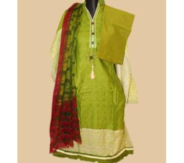 Unstiched Cotton Salwar Kameez