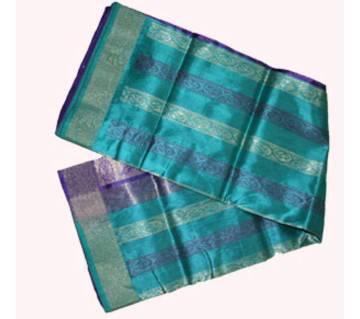 Multi Color Half Silk Saree