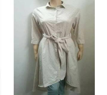 Ladies long trendy tunic