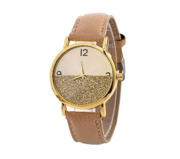 Fashion Collocation Wrist Watch For Women- Golden