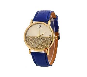 Fashion Collocation Wrist Watch For Women-  Blue