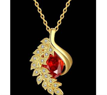 High Quality Zircon and 24K Gold Plating Necklace