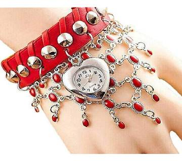 ladies watch Red