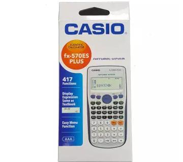CASIO es plus calculator