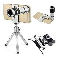12X Zoom Camera Telephoto Telescope Lens