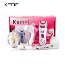 Kemei 6 in 1 Electric Female Body Cleaner