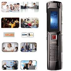 Mini Digital Voice Recorder Audio Recorder MP3 player 8GB