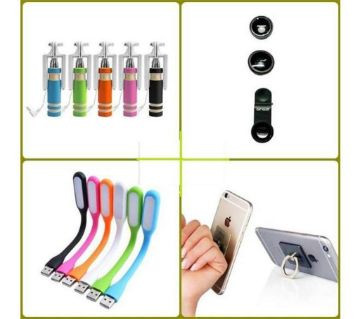 4 in 1 mobile accessories combo