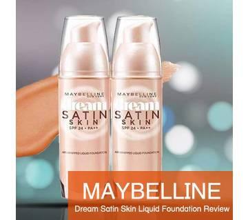 Maybelline Dream Satin স্কিন ফাউন্ডেশন - 25g