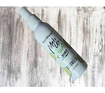 Kiss Beauty মেকআপ সেটিং স্প্রে Cucumber - 150ml - Malaysia