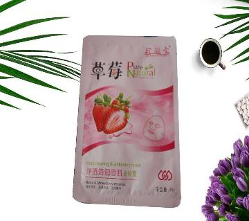 Strawberry Sheet Face Mask - 30g - Japan