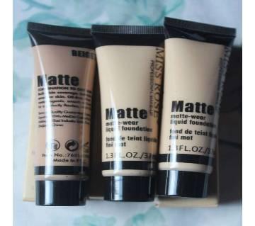 Miss Rose Matte Liquid Foundation - 37ml - China