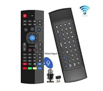 T6 Wireless Fly Air Mouse With Keyboard