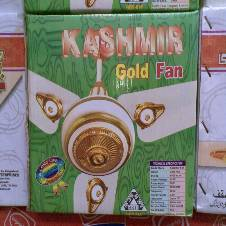 Kashmir Gold Fan 56 Inch