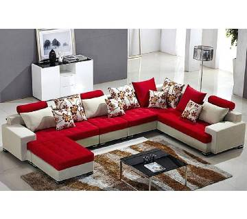 Design-able L-shape sofa set