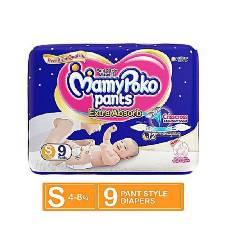 MAMYPOKO PANT DIAPER 9PCS (4-8KG)