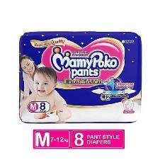 MAMYPOKO PANT DIAPER 8PCS (7-12KG)